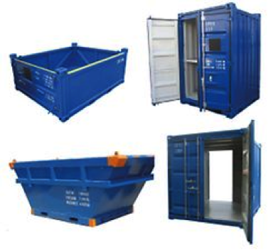 container-med-to-indgange