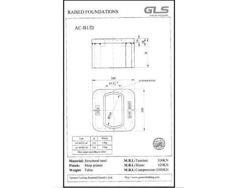 RAI25201 raised iso foundation tegning