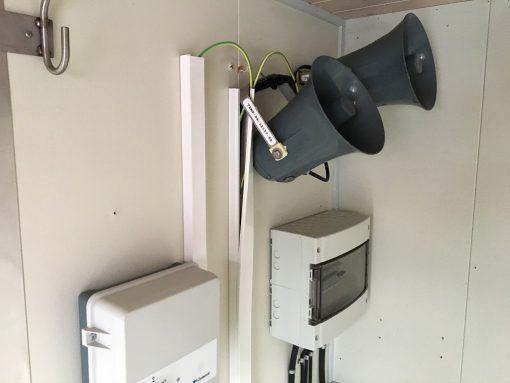 Indvendig kontor container brugt