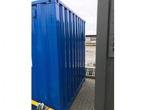 Udvendig kontor container brugt