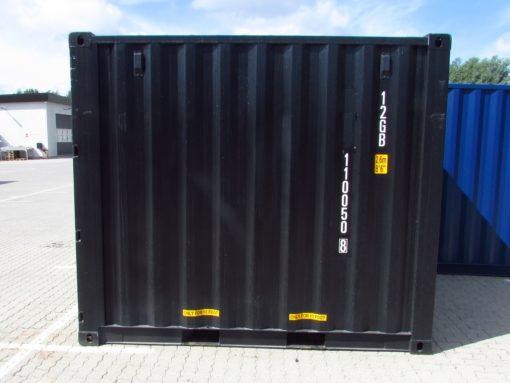 10' container set fra siden