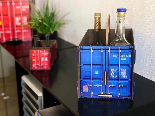 Flaske bærer container