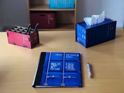 Folder container