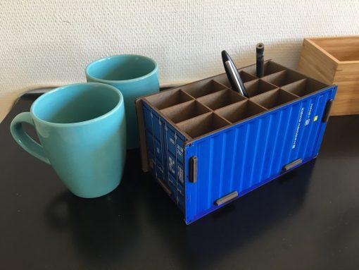 Pencil case container