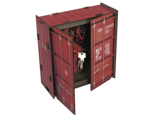 Nøgleboks container