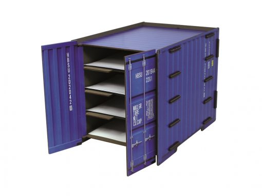 A4 skuffe sektion container