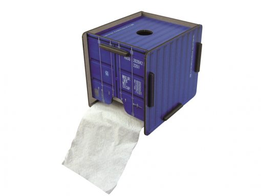 Toilet paper holder container