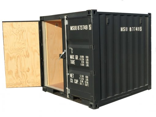 8' isoleret container