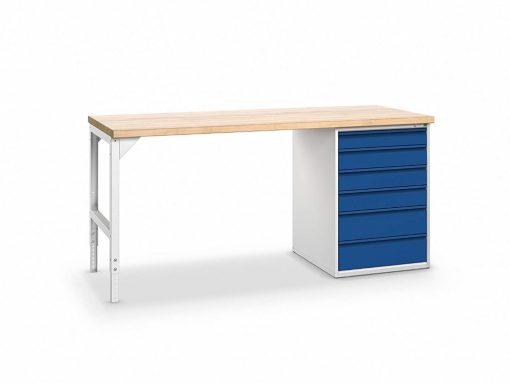 Workbench, 6 drawers, Bott Verso+