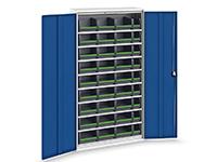 System Cabinet, 9 shelves, 36 bottBoxes, Bott Verso+