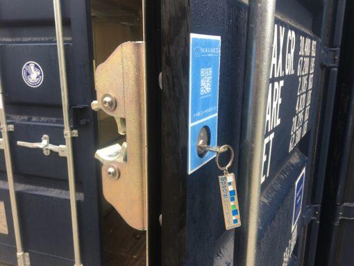 Mavako 3800I forsikringsgodkendt lås til container (4 ny)