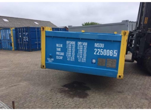 OFC22506 half height 20' offshore container 5