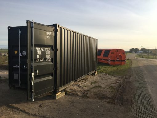 20' sort container