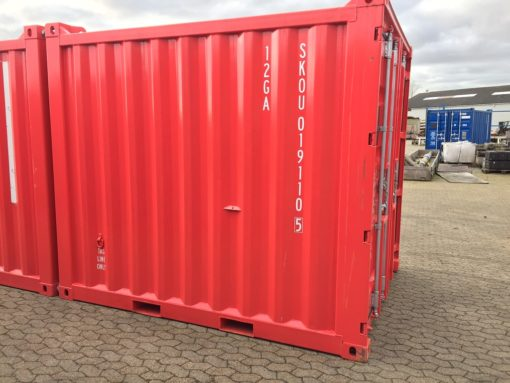 10' offshore container OFC19105 side left
