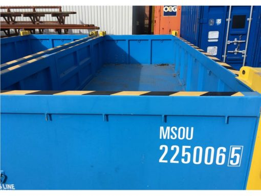 181022 MSOU 225006-5 half height 20' offshore container 5