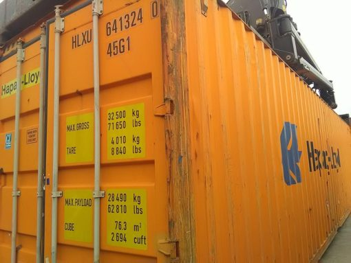 40_HC standard container, used (3)