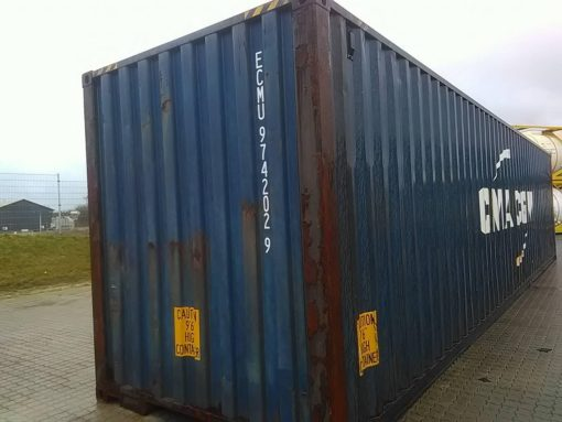 40_HC standard container, used (5)