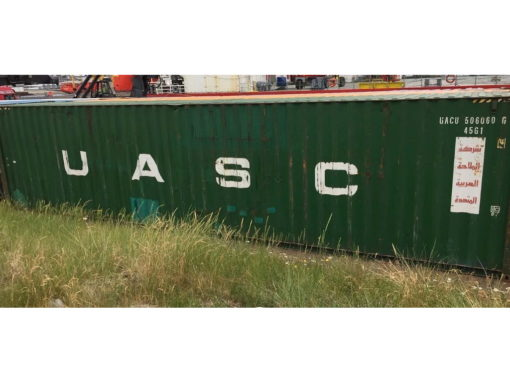 40_HC standard container, used (8,8)