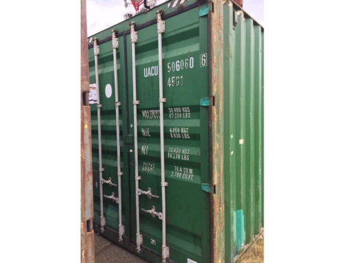 40_HC standard container, used (9,9)