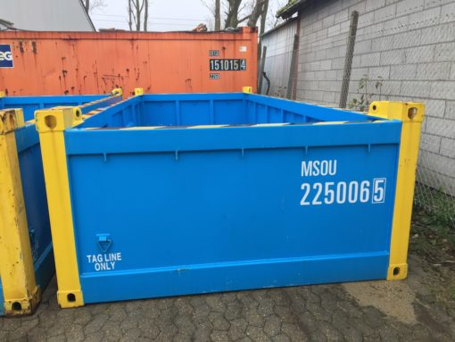 OFC22506 half height 20' offshore container 1