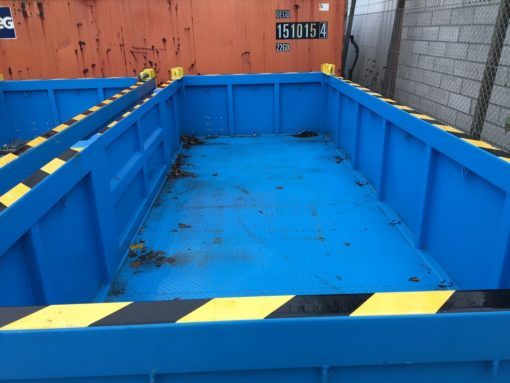 OFC225065 half height 20' offshore container 2
