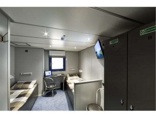 33ft-4men sleeper Single Beds1 1024x768