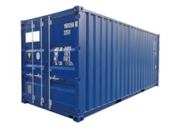 20' lukkede containere